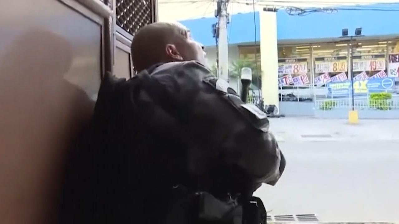 Grote schietpartij in Rio de Janeiro bij drugsactie