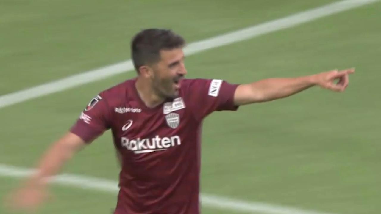 David Villa stopt: zijn mooiste doelpunten voor Vissel Kobe