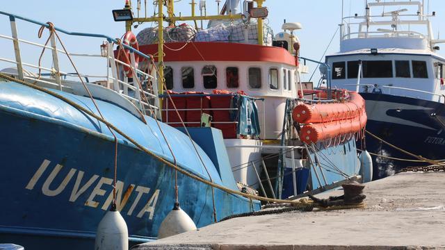 Duits reddingsschip in beslag genomen door Italiaanse politie