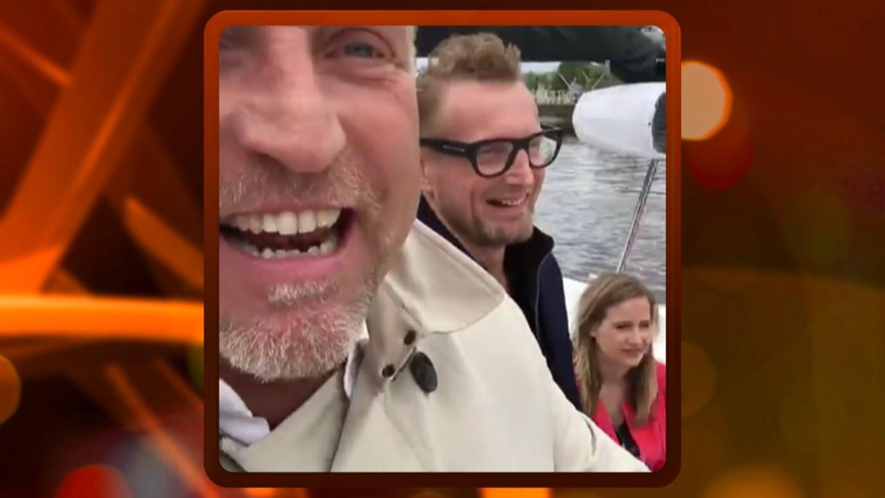 Gordon en Prins Bernard aangeschoten op Amsterdamse grachten