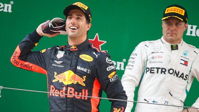 Teambaas Horner hoopt dat Ricciardo contract bij Red Bull gaat verlengen