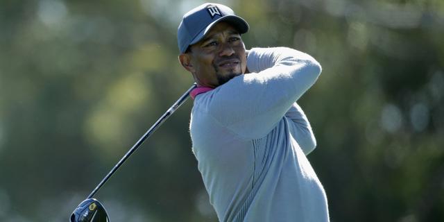 Woods haalt cut niet bij eerste toernooi op PGA Tour sinds blessure