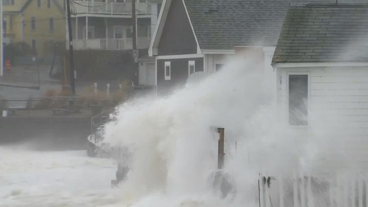 Zware storm treft noordoosten VS