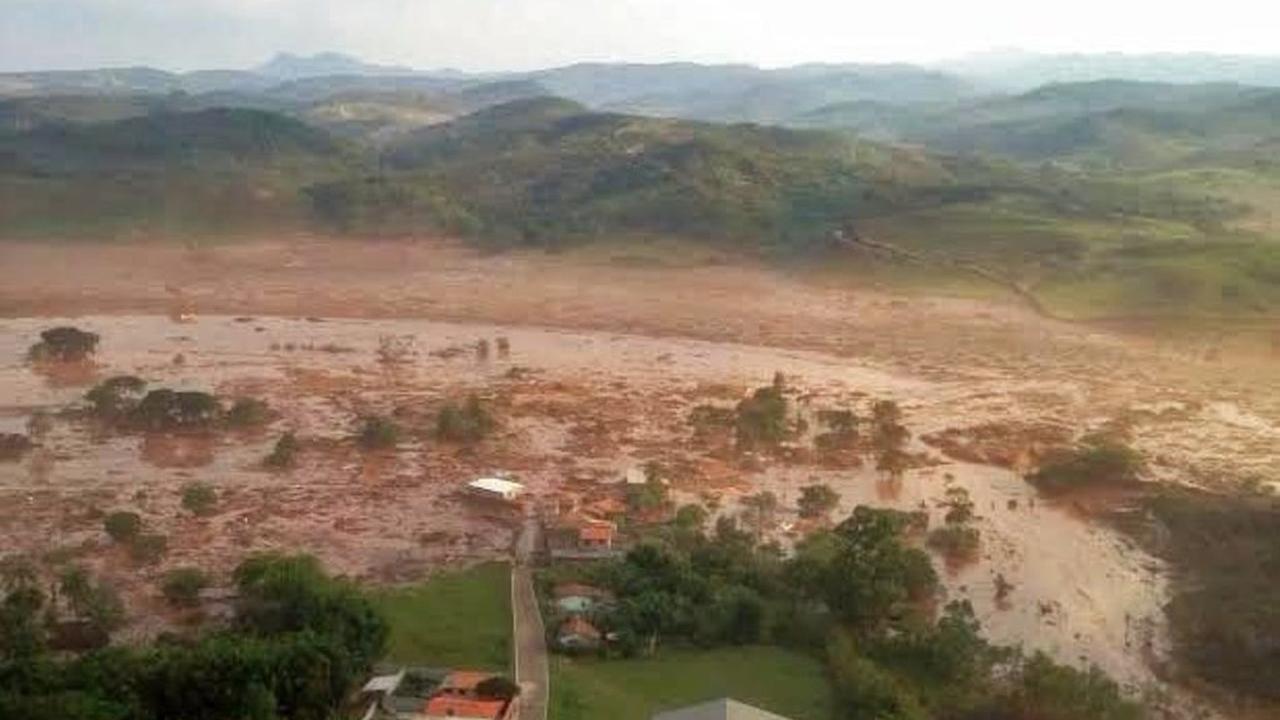 Doden na breuk in dam Brazilië