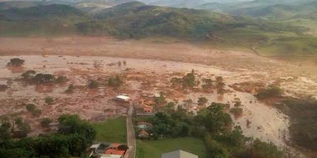 Minstens zeventien doden door instorten dam in Brazilië