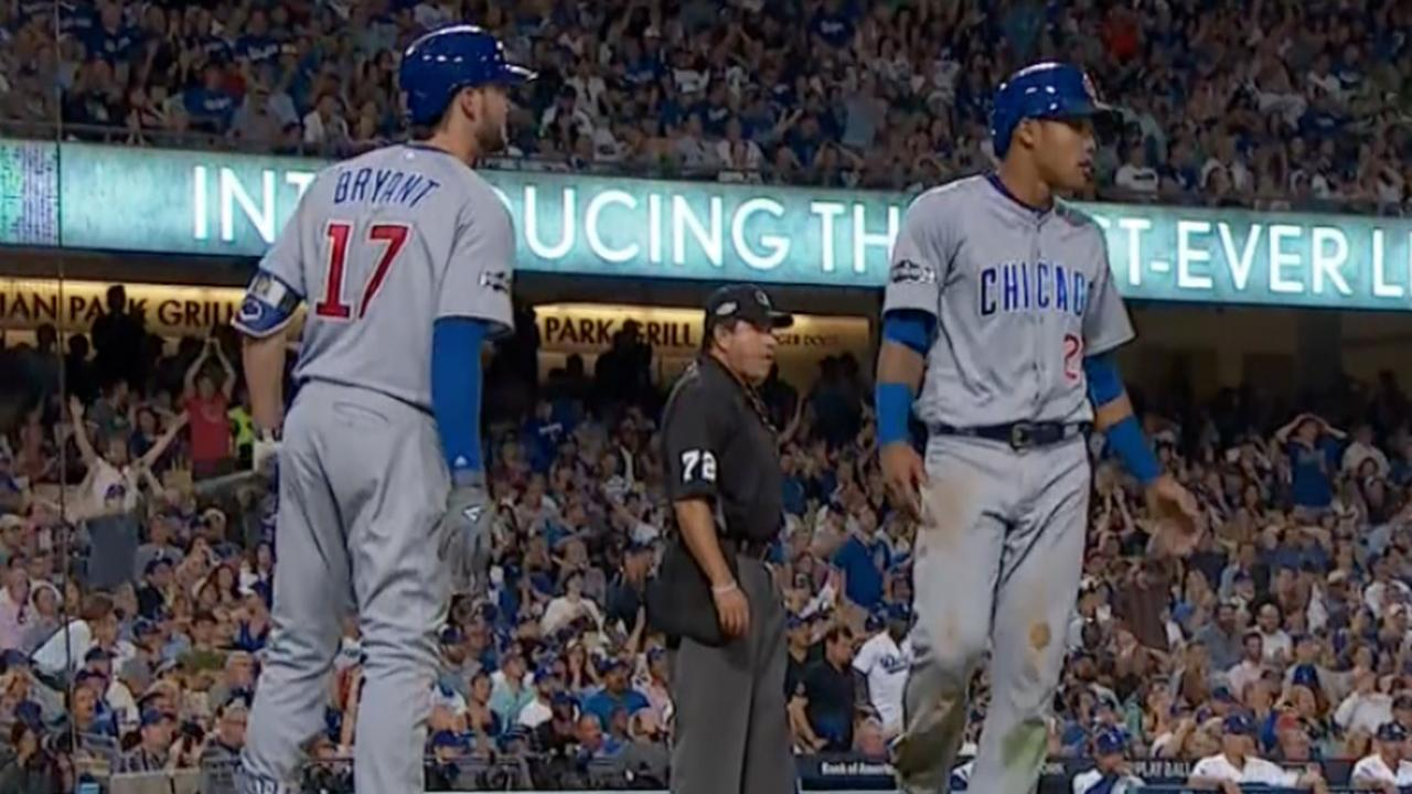 Samenvatting Chicago Cubs-LA Dodgers