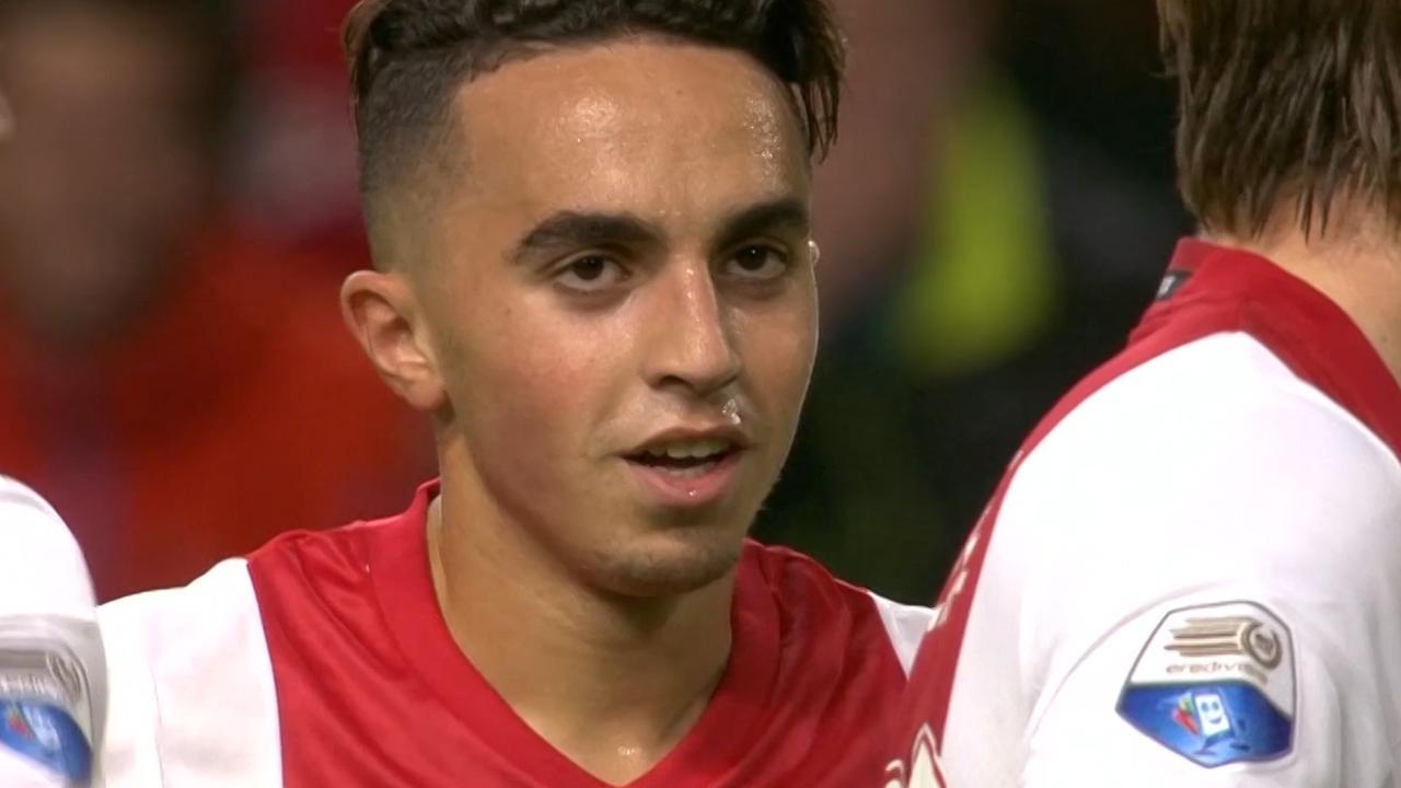 Hoogtepunten laatste seizoen van Nouri in het shirt van Ajax