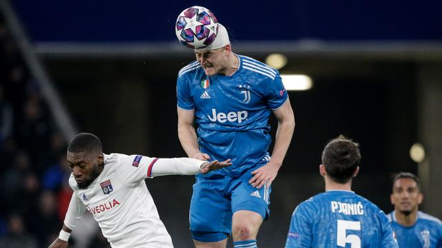 De Ligt en Juventus staan voor pittige klus na verlies bij Lyon in CL