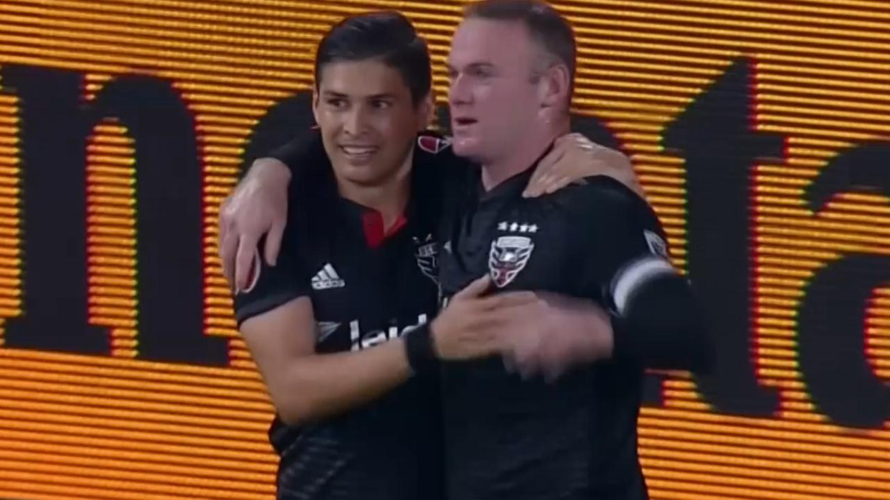 Rooney met twee goals opnieuw belangrijk voor D.C. United