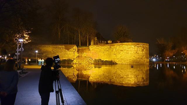 Gemeente Maastricht laat ingestorte stadsmuur stutten