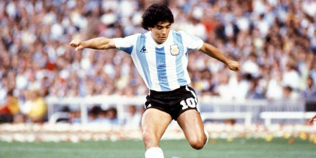 Documentaire over overleden voetballegende Maradona terug in de bioscoop