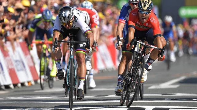 Reacties na zege Sagan in tweede Tour-etappe