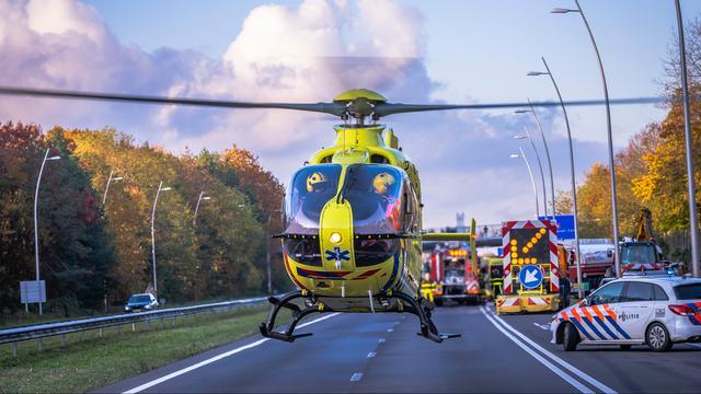 Zes gewonden bij twee ongelukken op N34 in Drenthe.