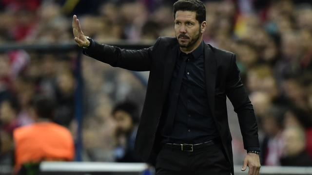 Simeone rekent zich nog niet rijk na nipte zege op Bayern
