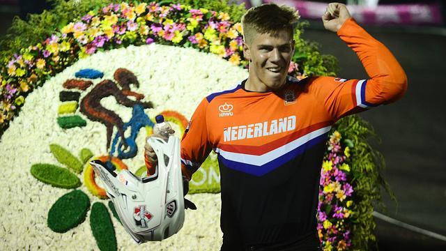 BMX'er Kimmann dankzij 'bizar seizoen' vol vertrouwen voor WK