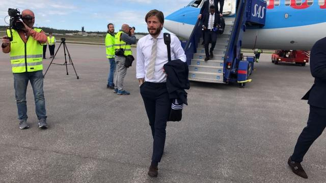 Ajax aangekomen in Stockholm voor finale Europa League