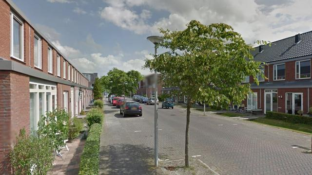 Auto ramt woning in Utrechtse wijk Vleuterweide