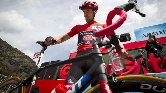 Dumoulin verliest leiding in algemeen klassement Vuelta