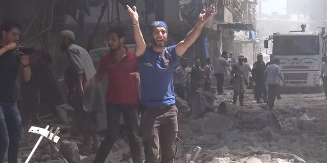 Vijftien doden bij bomaanslagen nabij ziekenhuis Aleppo