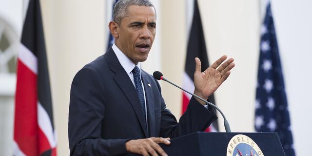 Obama prijst Merkel om vluchtelingenbeleid