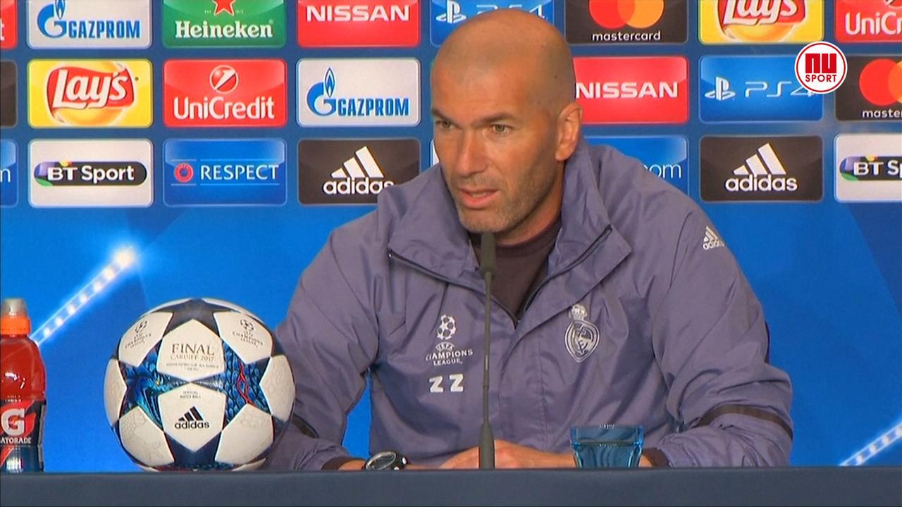 Zidane over Champions League finale: 'Voetbal kent geen favorieten'