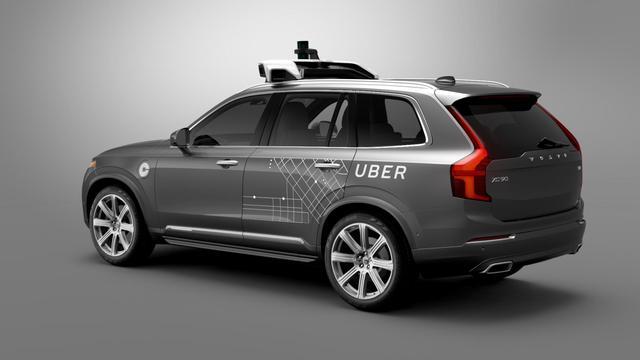 Uber start opnieuw met praktijktest zelfrijdende auto's