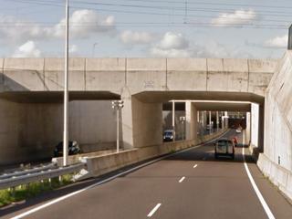 N57 bij Middelburg richting Brouwersdam tijdelijk gesloten