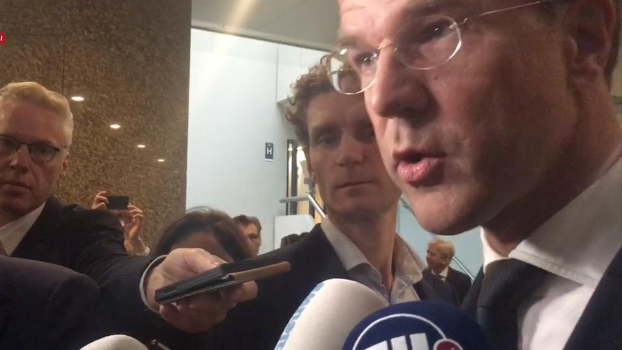Rutte: 'We doen niet nu al de deur dicht voor Trump'