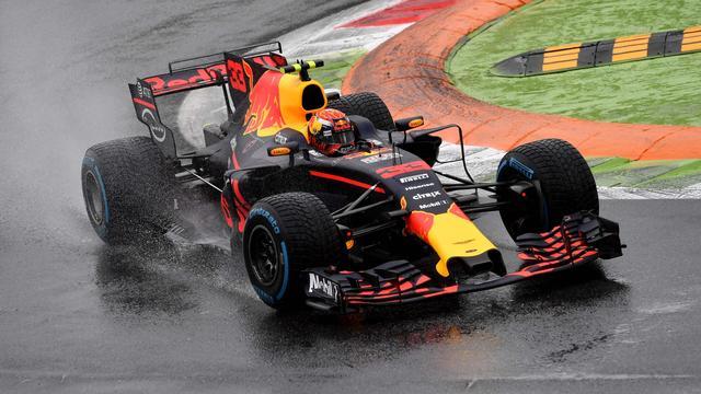 Verstappen rijdt naar tweede tijd in kwalificatie GP Italië, pole Hamilton