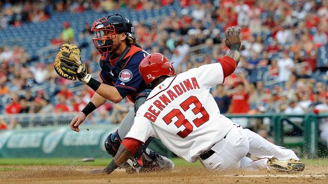 Roger Bernadina speelde 548 wedstrijden in Major League Baseball.