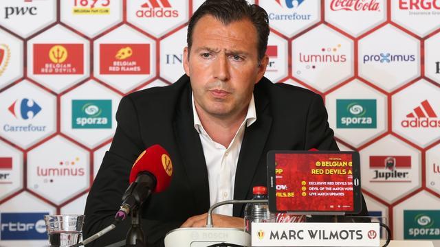 Bondscoach Wilmots ziet Lombaerts bij België afhaken voor EK