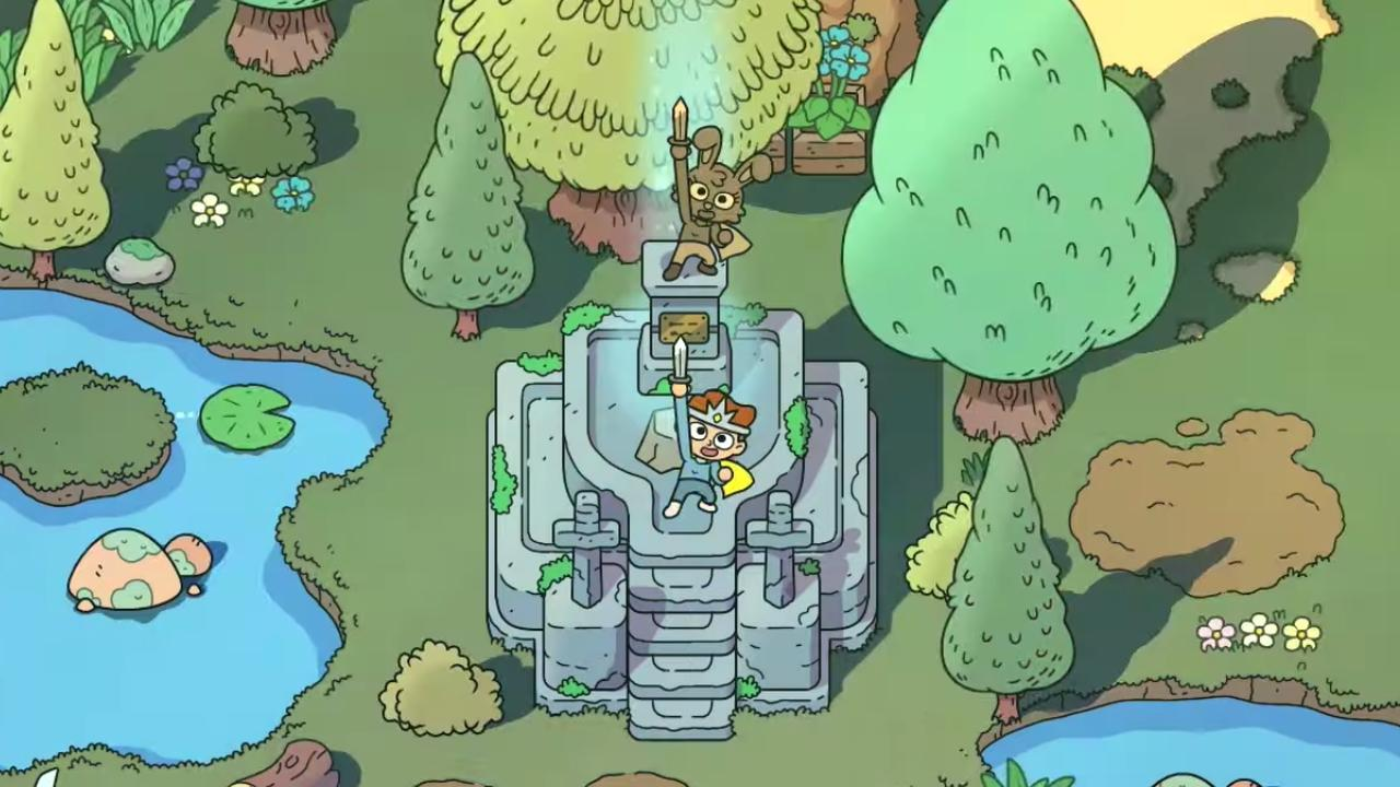 Bekijk hier de trailer van The Swords of Ditto