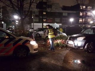 De auto stond op het Michaelplein