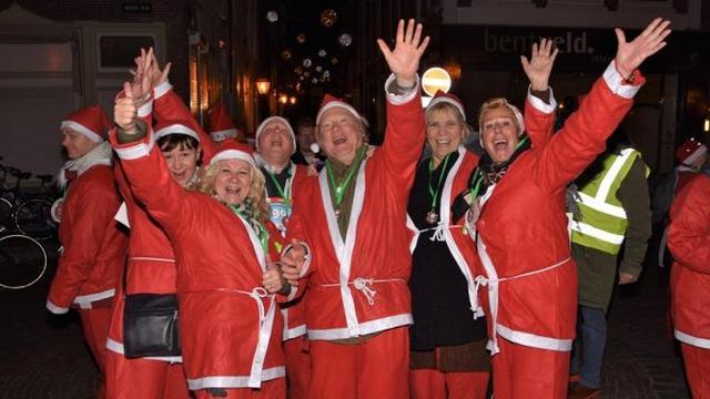 Rotary Santa Run in Leiden gaat niet door vanwege coronavirus