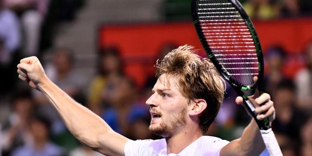 Goffin en Kyrgios naar finale ATP-toernooi Tokio
