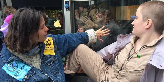 Dit gebeurde er op de tweede dag van het klimaatprotest in Amsterdam