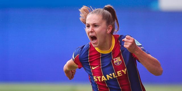Scorende Martens helpt FC Barcelona maand voor Spelen aan competitiezege