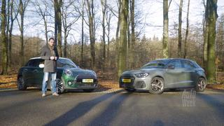 Dubbeltest AutoWeek: Audi A1 vs. Mini