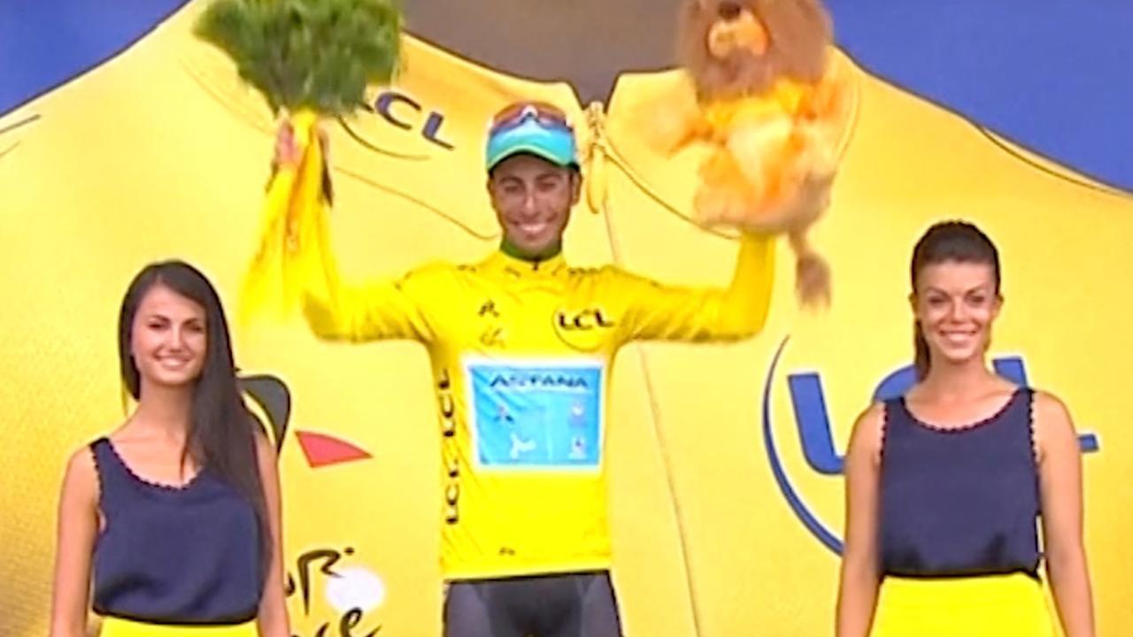Tour-samenvatting: Aru neemt geel over van Froome, Bardet wint rit