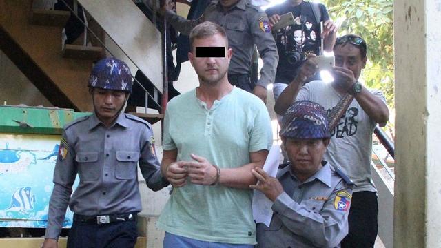 Nederlandse toerist die ritueel verstoorde in Myanmar vrijgelaten