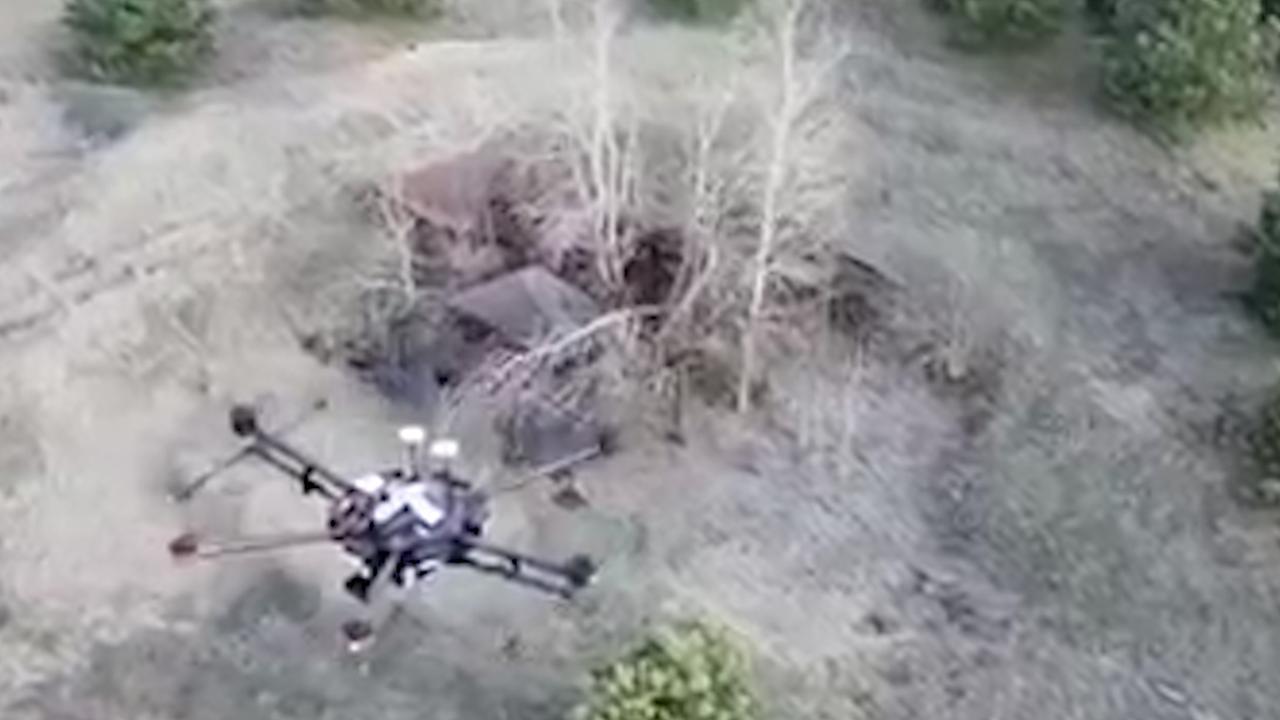 Hoogradioactieve plekken Tsjernobyl in kaart gebracht door drones