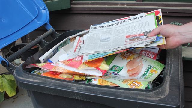 SKOPP blijft papier inzamelen in Prinsenbeek