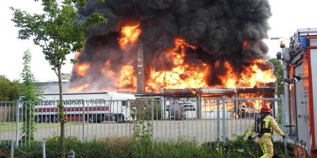 Ruim tweehonderd branden meer in juli dan jaar ervoor
