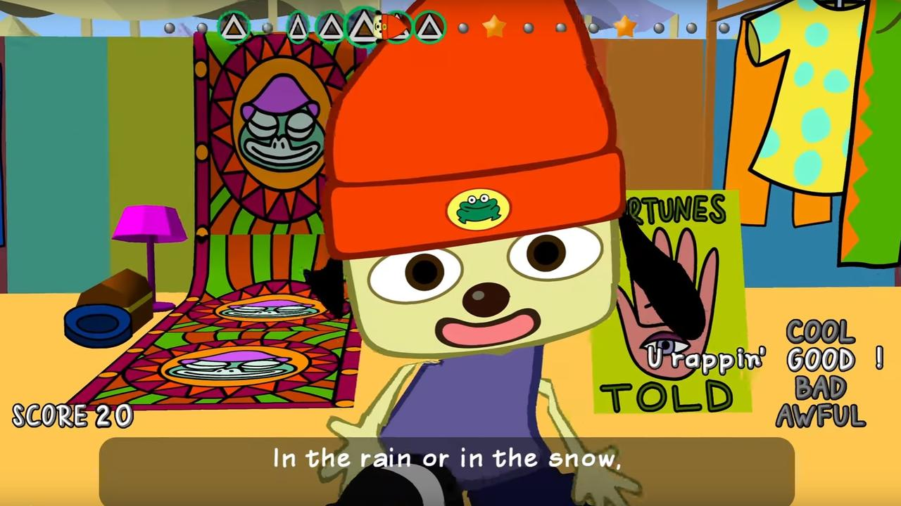 Trailer PaRappa The Rapper Remastered