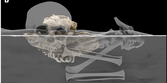 Oudste in Afrika begraven mens was een kleuter van 78.000 jaar geleden