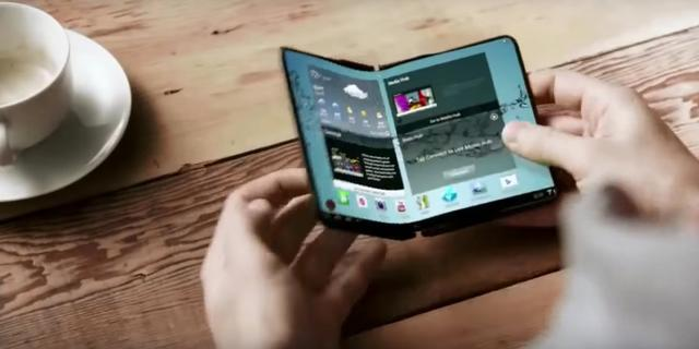 Samsung wil opvouwbare smartphone volgend jaar uitbrengen