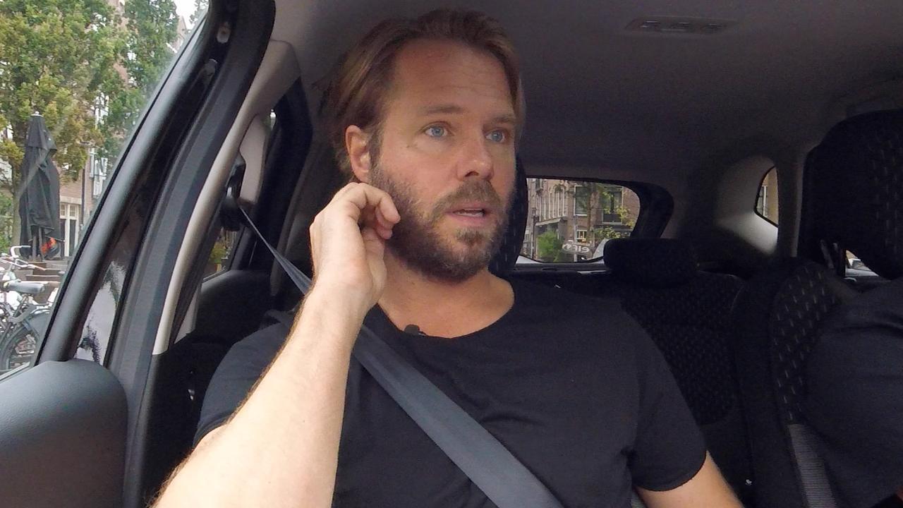 In de auto met Thijs Römer: 'Stuk met Katja geen stunt'