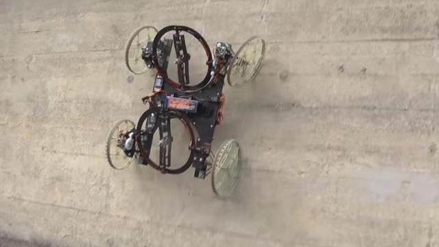 Disney maakt robot die muren kan beklimmen