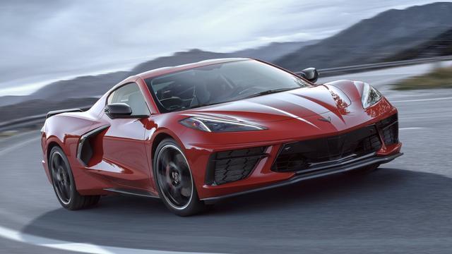 Nieuwe Chevrolet Corvette aangedreven door 495 pk sterke V8-motor