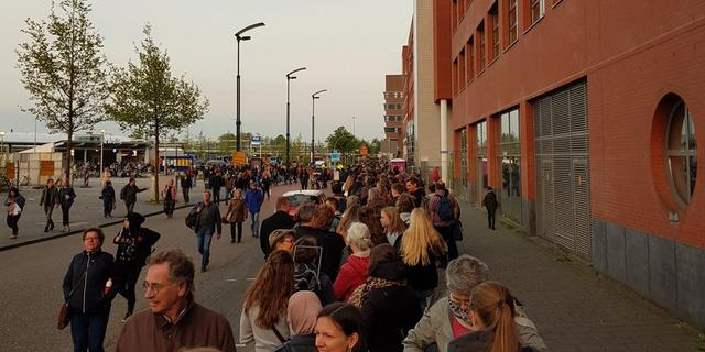 Grote wisselstoring bij Zwolle voorbij, noorden weer bereikbaar per trein